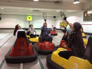 Atlanta corporate events at Whirlyball